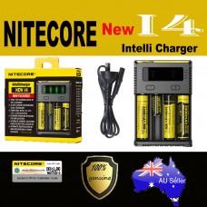 Nitecore NEW I4 Smart Universal Battery charger