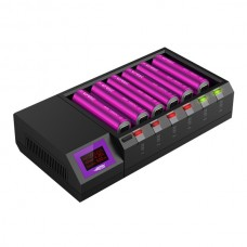 Efest Luc BLU6 Lithium 3.7V buletooth battery LCD Charger