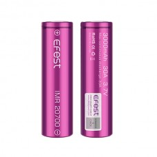 Efest IMR 20700 3000mAh 30A flat top battery