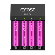 Efest PRO C4 Lithium 3.7V Smart battery Charger
