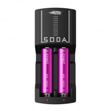 Efest SODA Lithium 3.7V Smart battery DUAL  Charger